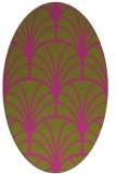 rug #1217191 | oval graphic rug