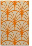 rug #1217211    orange graphic rug