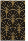 rug #1217239 |  mid-brown retro rug