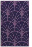 rug #1217307 |  purple retro rug