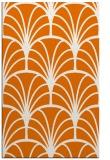 rug #1217427 |  orange graphic rug