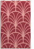 rug #1217447 |  pink retro rug