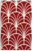 rug #1217479 |  red retro rug