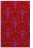 rug #1217483 |  pink retro rug