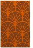 rug #1217495 |  red-orange graphic rug