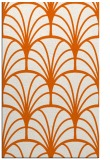rug #1217499 |  red-orange graphic rug