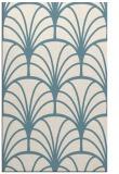 rug #1217523 |  blue-green retro rug