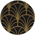 rug #1217607 | round brown retro rug