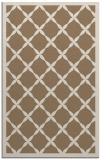 rug #121761 |  mid-brown borders rug