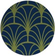 rug #1217623 | round blue retro rug