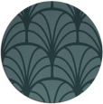 rug #1217651 | round blue-green popular rug