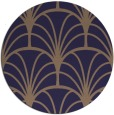 rug #1217683 | round beige retro rug