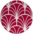 rug #1217695 | round red graphic rug