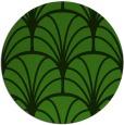 rug #1217723 | round green graphic rug