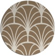 rug #1217739 | round retro rug