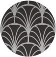 rug #1217803 | round red-orange graphic rug