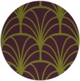 rug #1217827 | round purple retro rug