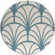 rug #1217891   round white retro rug