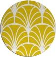 rug #1217907 | round yellow graphic rug