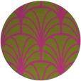 rug #1217927 | round light-green graphic rug