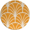 rug #1217943   round light-orange graphic rug
