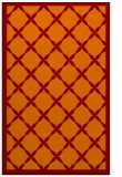 rug #121797 |  orange borders rug