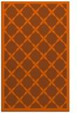 rug #121873 |  red-orange borders rug