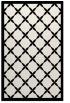 rug #121881 |  black borders rug