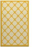rug #121897 |  yellow borders rug