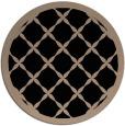 rug #121973 | round beige popular rug