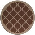 rug #121980 | round borders rug