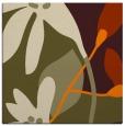 rug #1220155 | square orange natural rug