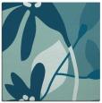 rug #1220207 | square blue-green rug