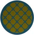 rug #122022   round traditional rug