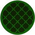 rug #122030   round rug