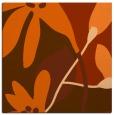 rug #1220435   square red-orange rug