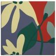 rug #1220491 | square yellow natural rug