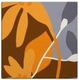 rug #1220519 | square light-orange natural rug
