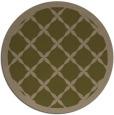 rug #122081 | round brown borders rug