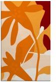 rug #1221107 |  orange natural rug