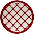 rug #122156 | round traditional rug