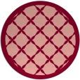 rug #122180 | round borders rug