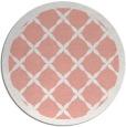 rug #122181   round pink borders rug