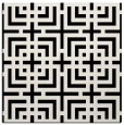 rug #1221999 | square white check rug
