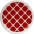 rug #122201 | round red borders rug