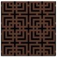 rug #1222011 | square brown check rug