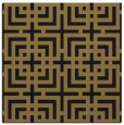 rug #1222023 | square mid-brown check rug