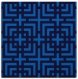 rug #1222027 | square blue check rug