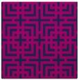 rug #1222031 | square pink check rug