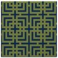 rug #1222039   square blue popular rug